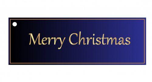 Kalėdos, dovanos, žyma, etiketė, dovanos & nbsp, žyma, mėlynas, gradientas, gražus, izoliuotas, balta, fonas, menas, iliustracija, Scrapbooking, Kalėdų dovanų žyma mėlyna