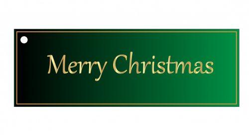 Kalėdos, dovanos, žyma, etiketė, Kalėdų & nbsp, žyma, žalias, gražus, auksas, raidės, linksmas & nbsp, Kalėdos, izoliuotas, balta, fonas, menas, iliustracija, Scrapbooking, Kalėdų dovanų žyma žalia