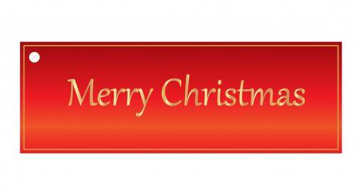 Kalėdos, dovanos, žyma, etiketė, Kalėdų & nbsp, žyma, gražus, raudona, auksas, tekstas, linksmas & nbsp, Kalėdos, xmas, menas, iliustracija, Scrapbooking, Kalėdų dovanų žyma raudona
