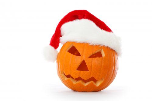 ruduo, raižyti, Kalėdos, santa, Claus, veidas, Halloween, skrybėlę, šventė, Domkratas, Moliūgas žibintas, žibintas, oranžinė, moliūgas, raudona, sezoninis, balta, Kalėdų puodelis-o-žibintas
