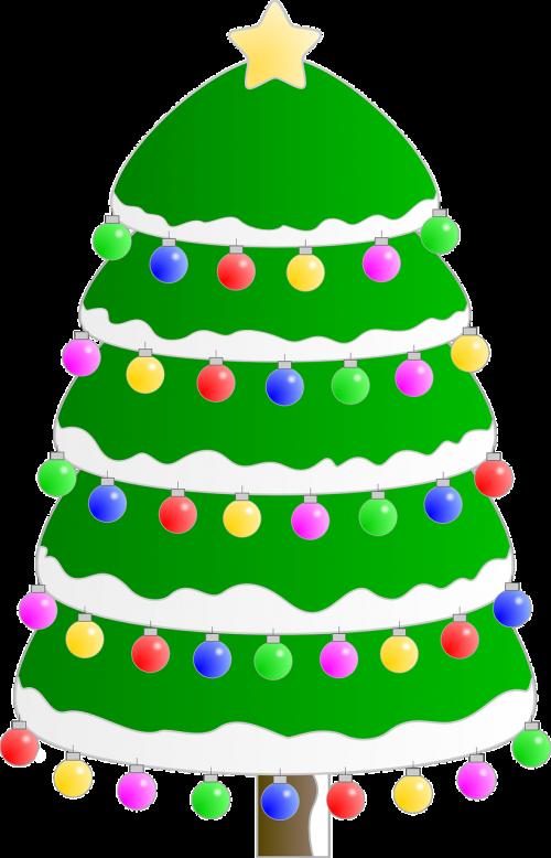 Kalėdų eglutė,Kalėdos,gruodžio mėn .,atostogos,pušis,medis,apdaila,visžalis,nemokama vektorinė grafika