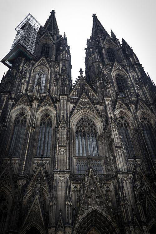 bažnyčia,Kelnas,krikščionis,europietis,architektūra,istorija,Vokietija,pastatas,katalikų,Romos katalikų,vokiečių,religiniai įsitikinimai,religija,krikščionybė,gotika,Europa