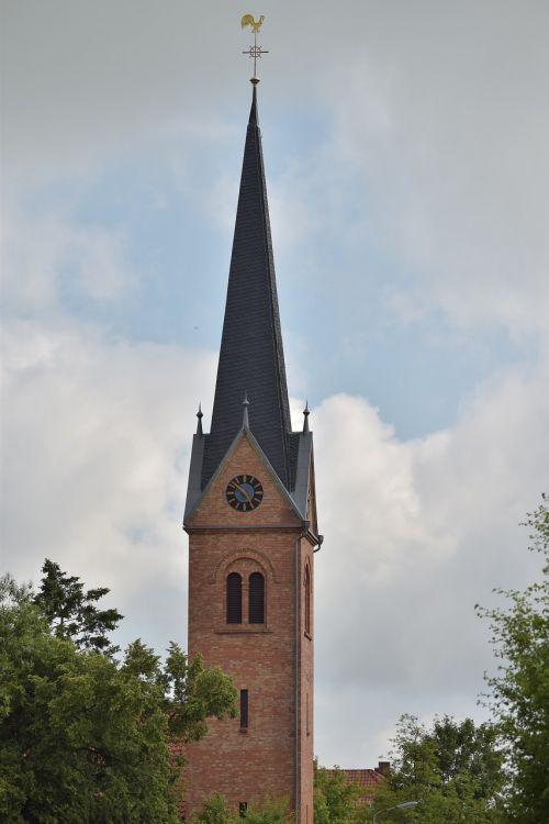 bažnyčia,Platus kampas,bokštas,debesys,dangus,dengtas dangus,dramatiškas,nuotaika