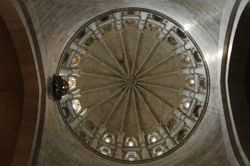 bažnyčia,katedra,Salamanca,Ispanija,architektūra,katedros kupolas,paminklai,kupolas,šventykla