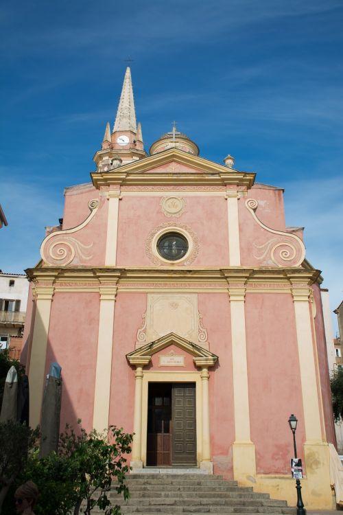 bažnyčia,Korsika,france