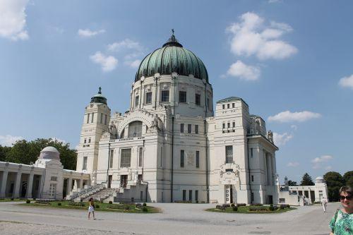 bažnyčia,antklodė,architektūra,ornamentas,skydas,vienna,centrinės kapinės,bažnyčios pastatai,maldos namai,garbinimo namai,krikštijimas
