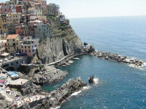 penki & nbsp, žemių, Italija, jūra, vandenynas, uolos, penki žemes