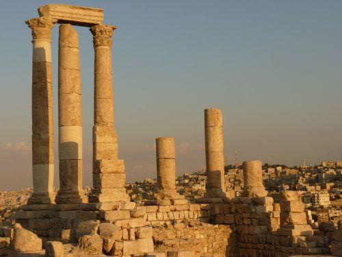 citadel kalnas,amanas,jordan,šventė,kelionė,Artimieji Rytai,sugadinti,akmuo,ramstis