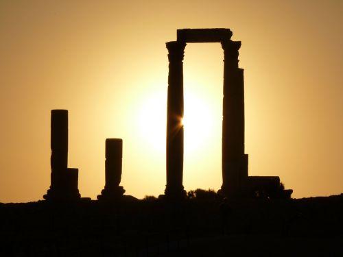 citadel kalnas,amanas,jordan,šventė,kelionė,Artimieji Rytai,sugadinti,akmuo,ramstis,saulėlydis,romantika,meilė