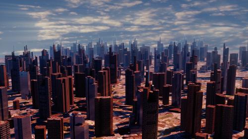 miestas,Persiųsti,dangoraižis