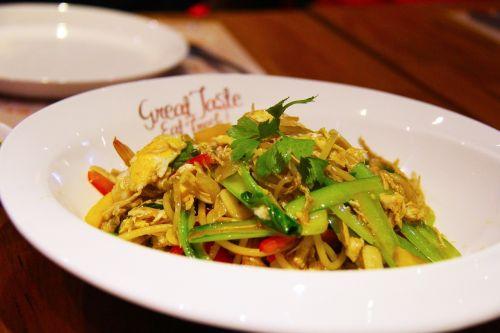 miestas,kelionė,Jangonas,mianmaras,asija,turizmas,vakarienė,restoranas,daržovių,kiaušinis,makaronai,skanus,maistas,skanus,skanus