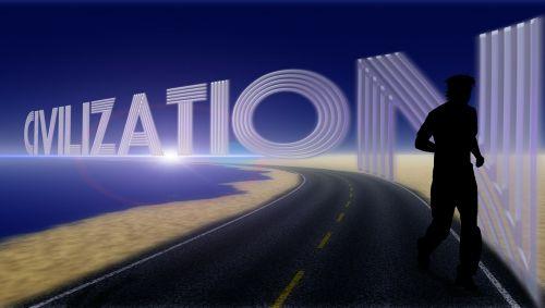 civilizacija,vyras,siluetas,paleisti,bėgikai,lenktynės,kelias,papludimys,plėtra,kultūra,švietimas,gyvenimo būdas,gyvenimo būdas,pagal užsakymą