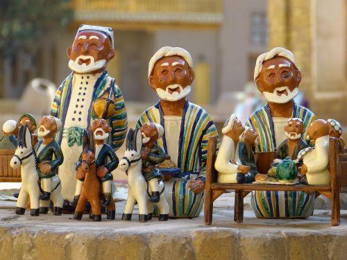 molio figūra,Uzbekistanas,keramika,keramika,suvenyras,mitbringsel,apdaila,atmintis