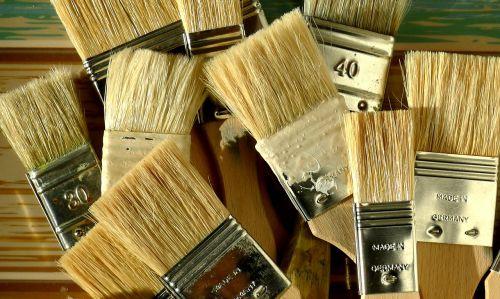 švarios teptukai,šerių teptukai,dažymo įrankiai,teptukas,šeriai,įrankis,amatų,įranga,meistriškumas,Pagaminta Vokietijoje
