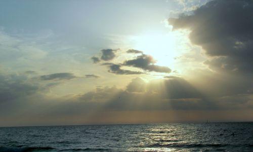 Papludimys,  Persijos Įlanka & Nbsp,  Meksika,  Vanduo,  Saulėlydis,  Skaidrus Vanduo,  Florida,  Grynas Vanduo