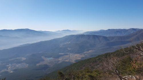 alpinizmas,gamta,kraštovaizdis,Yangsan,jauni gyvuliai