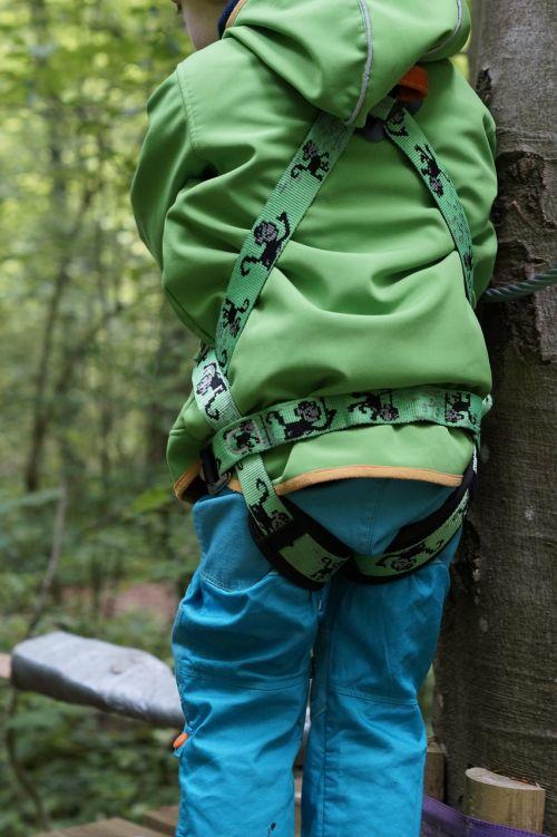 laipiojimo diržai,lipti,aukštas lynų kursas,laipiojimo miškas,laipiojimo sodas,drąsos,drąsos testas,drąsus,vaikas,paremtas,atsarginė kopija,saugus