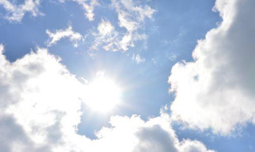 Debesis,  Vasara,  Oras,  Oras,  Mėlynas Dangus,  Debesys,  Saulė