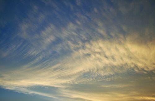 dangus, debesis, šviesa, gudrus, skleisti, debesis šiek tiek pasklido