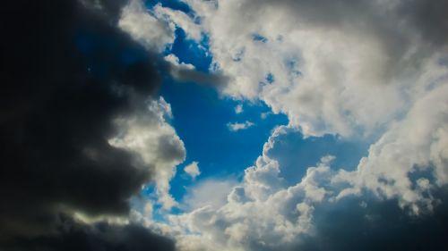 debesys,saulės šviesa,dangus,gamta,oras,dangus,cloudscape,vaizdingas,Debesuota,žiema