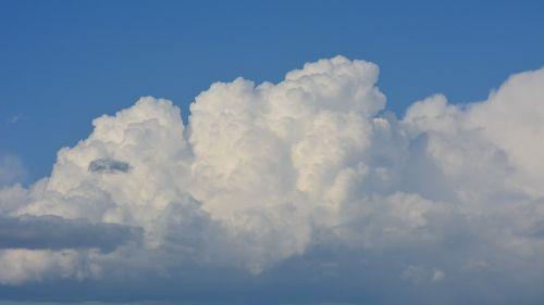 debesys,cumulus,dangus,audra,lietus,Debesuota,mėlynas