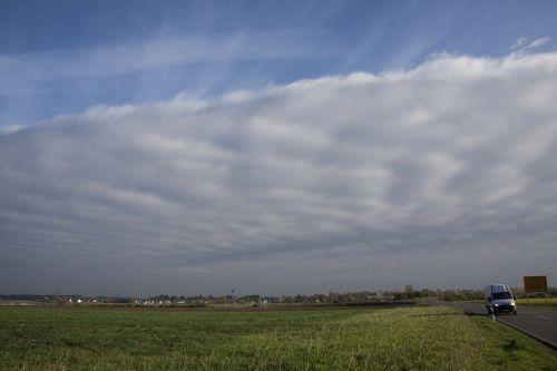 debesys,Wolkenwand,gražus oras,Blogas oras,pilka,mėlynas,oras priekyje,palikti,aukštas,giliai,furgonai,kelias