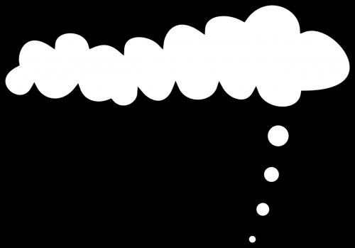 debesys,balta,simbolis,ženklas,mąstymas,mintis,išraiškos,juoda ir balta,svajoti,svajones,dienos svajones,Debesuota,cloudscape,nemokama vektorinė grafika
