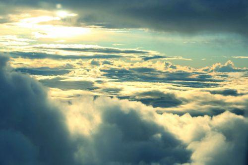 debesys & nbsp, aukščiau & nbsp, dangus, debesys, aukščiau & nbsp, dangus, Debesuota, gamta, dangus, debesuota & nbsp, dangaus, rytas saulė, saulė, saulės šviesa, debesys virš dangaus Nr.3