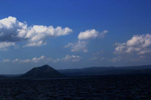 debesys, debesuota & nbsp, dangaus, mėlynas & nbsp, dangus, gamta, dangus, Debesuota, kalnas, vandenynas, vanduo, papludimys, jūra, tapetai, fonas, Debesuota diena