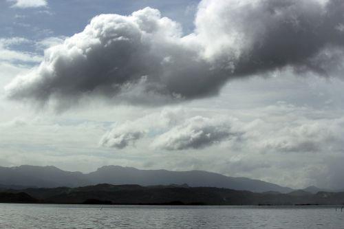 debesys, debesuota & nbsp, dangaus, mėlynas & nbsp, dangus, gamta, dangus, Debesuota, kalnas, vandenynas, vanduo, papludimys, jūra, tapetai, fonas, debesuota dangaus 2