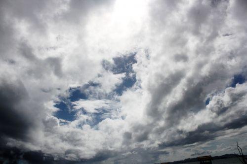 debesys, debesuota & nbsp, dangaus, mėlynas & nbsp, dangus, gamta, dangus, Debesuota, kalnas, vandenynas, vanduo, papludimys, jūra, tapetai, fonas, debesuota danga 6