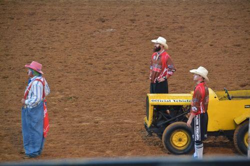 klounas,rodeo,juokinga,kaubojus,Vakarų