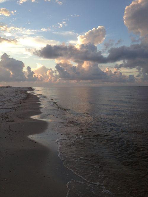 papludimys, kranto linija, Persijos įlanka & nbsp, pakrantė, aušros pakrantė