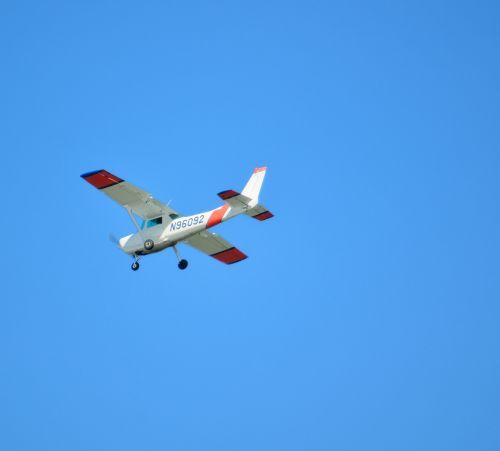 lėktuvas, mažas, orlaivis, gabenimas, skraidantis, dangus, skrydis, pakrantė & nbsp, apsauga, pakrantė, florida, usa, pakrančių apsaugos lėktuvas