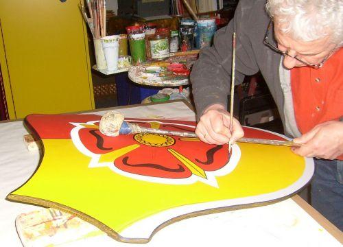 tapybos herbas,laiko atsargos,dažų teptuku,liptonas herbas,scenarijų dailininkas
