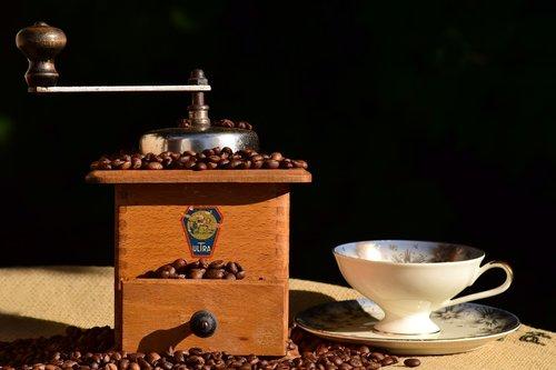 kavos pakaitalai, kavamalė, malūnas, šlifuoti, kavos pupelės, istoriškai, mediena, Senovinis, metai, Iš arti, biudžetas, mechaniškai, rudi, aromatas, aromatas, virėjas, kavos virimo, pupelės, kofeino, skrudintos, švaistiklio, kavos pertraukėlė