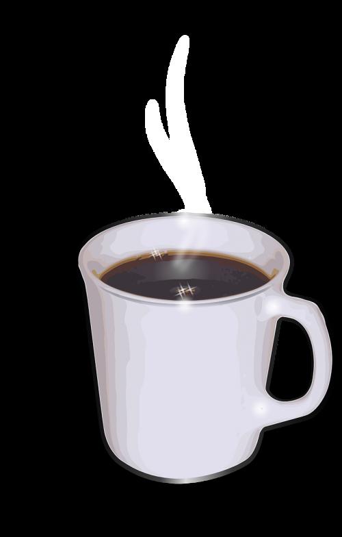 kava,puodelis,taurė,balta,gėrimai,skysčiai,gėrimai,energija,gaivus,stimuliuoja,karštas,nemokama vektorinė grafika
