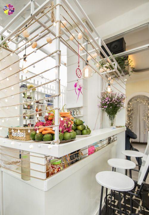 kavinė,projektuoti,gražus,nuotrauka,eksterjeras,dalat,kavinė žuvies kavinė da lat