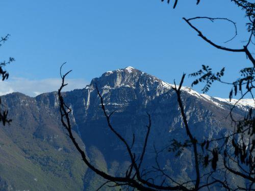 Pilnas Malcesine, Viršūnė Kolma, Kalnų, Garda, Monte Baldo Tvirtas, Monte Baldo, Summit