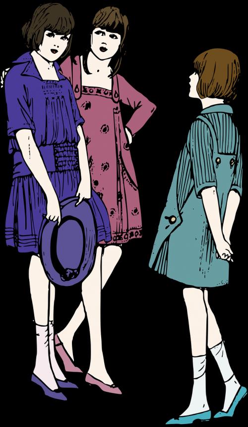 spalva,spalva,suknelė,mada,mergaitė,skrybėlę,žmonės,avalynė,stovintis,moteris,jaunas,nemokama vektorinė grafika