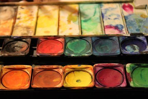 spalva,dažų dėžės,malkasten,spalvinga,džiaugsmas,kūrybingas,vaikai,dažyti,tusche indian ink,akvarelė,menas,dažymas,atkreipti
