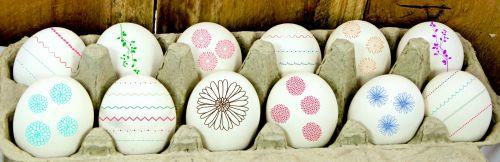 Velykos, kiaušiniai, Velykų & nbsp, kiaušiniai, viešasis & nbsp, domenas, šventė, dekoruoti & nbsp, kiaušiniai, kartonai & nbsp, kiaušiniai, kiaušinių & nbsp, dėžutė, dažyti & nbsp, kiaušiniai, pavasaris, menas, meno, gėlės, dizainas, linijos, spalvinga, spalvos, Laisvas, spalvoti Velykiniai kiaušiniai