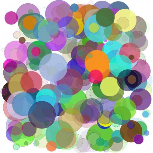 spalvinga, atsitiktinai, taškai, rutuliai, alfa, balta, fonas, modelis, spalvingi taškai