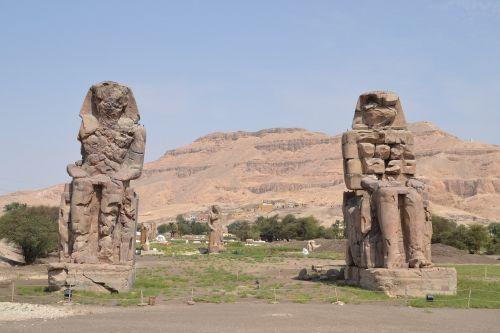 kolosas,luxor,Egiptas