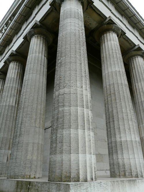 stulpelis,įvedimas,galingas,didelis,šlovės šventykla,kalkakmenis,Walhalla,paminklas,kritulių salė,donaustauf,ludwig i,pastatas,įspūdingas,architektūra,tvirtas,klasicizmas,memorialinis pastatas,monumentalus