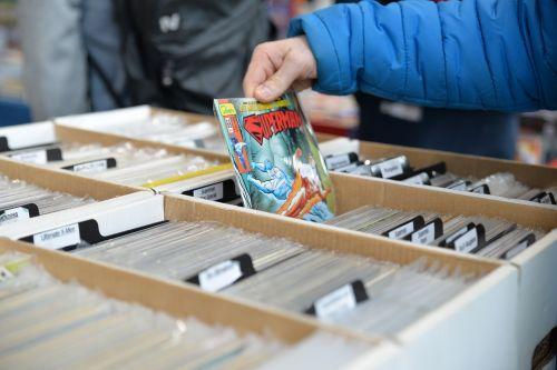 komiksas-con,konvencija,komiksas,knygos,supermenas,pasirinkimas,pasirinkimas,naršymas,Moksiukas,fikcija