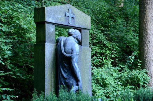 paminėti,figūra,angelas,kapas,kapinės,miškas,kapinės,harmonija,paskutinis,gedulas,malonumas,ilgesys,tikėjimas,weststadt