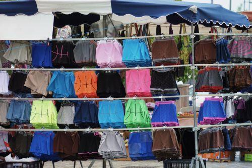 apranga, audiniai, spalvos, gatvė & nbsp, prekyba, turgus, mugės, prekyba gatvėmis
