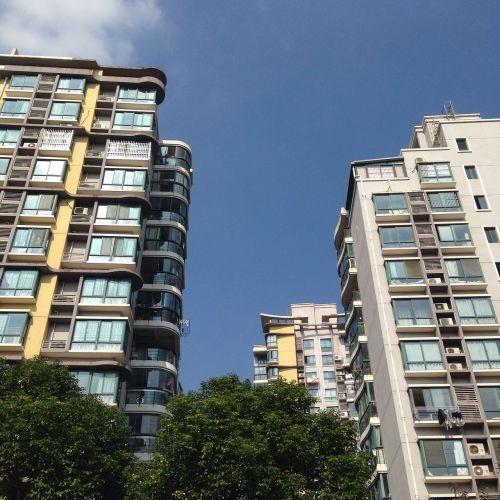 bendruomenė,mėlynas dangus,geras oras,Šanchajaus bendruomenė