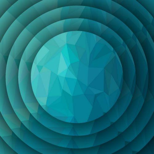 tapetai, koncentrinis, mėlynas, trikampiai, tikslas, taikinys, menas, geometrinis, formos, linijos, gradientas, spalva, koncentriniai mėlyni trikampiai